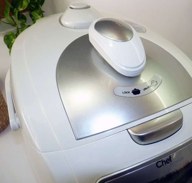 Robot de cocina Chef Premium, guiado por voz